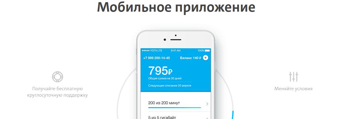 приложение йота на айфон