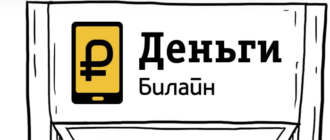 Денежные переводы Билайн