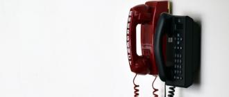 МГТС установка телефона